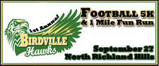 1st Annual Hawks Football 5K